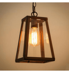 pendant light black lantern - Fresy