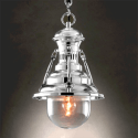 Chrome Marine Style Pendant Light - Calia
