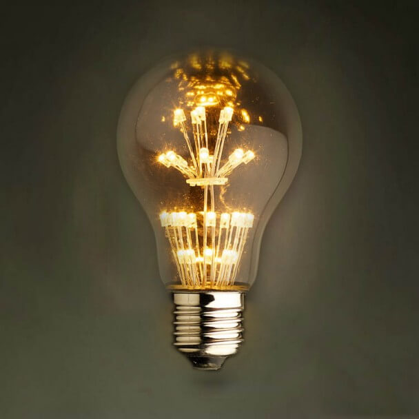 LED filament bulb E27 - Pacifist