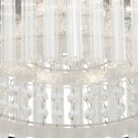 Ceiling light round crystal LED D37 cm - Vinci