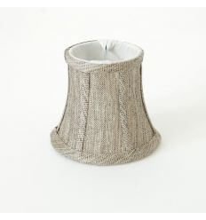 Lampshade linen coffee modern for chandelier or Wall light - Tam