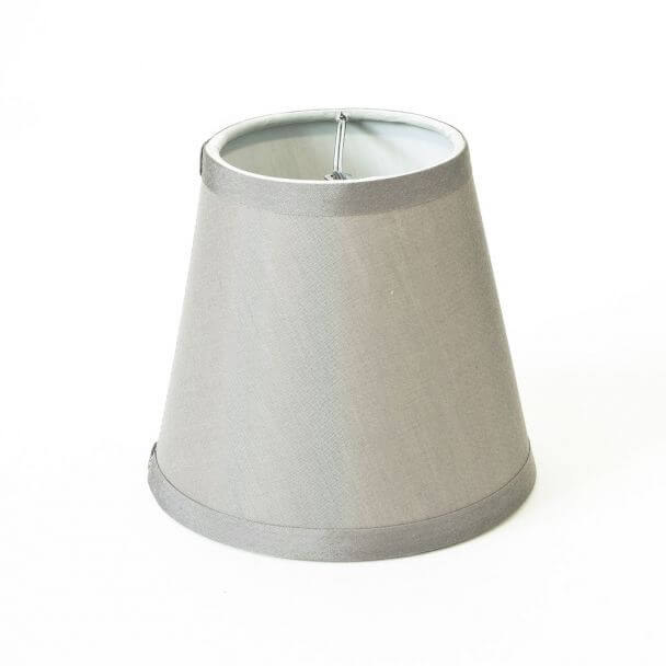 Lampshade silver modern for chandelier or Wall light - Hope