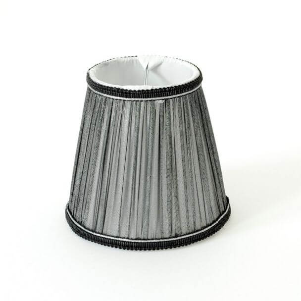 Lampshade black modern for chandelier or Wall light - Lily