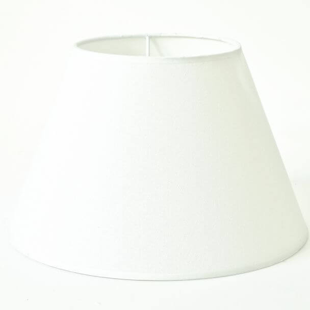 Lampshade linen coffee modern for lamps - Elea