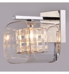 Wall light glass and metal design - Jaula