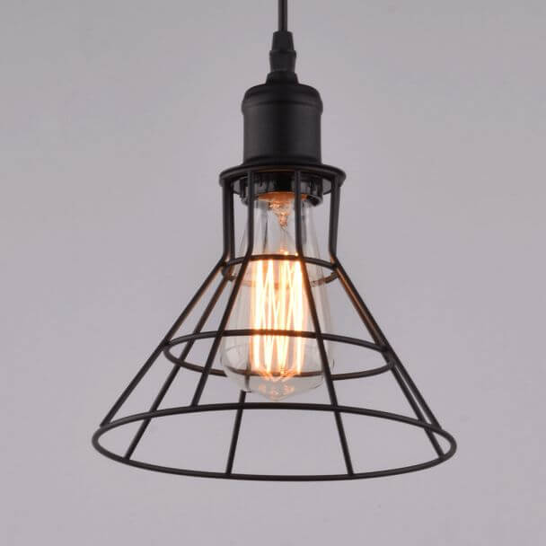 Pendant light design conical industrial - Sergio