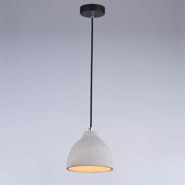 Pendant light gray concrete - Exo
