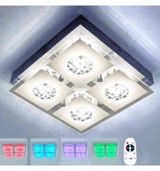 Ceiling light LED crystal - July