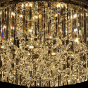 Huge Crystal LED 72W Ceiling Light - Andromeda