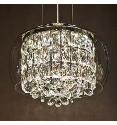 Prestigious LED Crystal Pendant Light - Fortuna