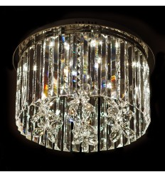 Crystal LED 27W Ceiling Light - Perseus