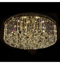 Large ceiling lamp crystal LED 72W - Irene