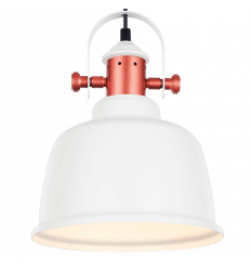 industrial white design pendant light - Dalia