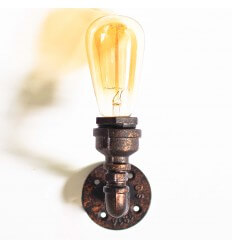 Plumbing Pipe Wall Light - Filia