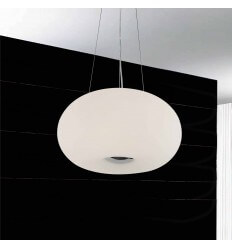 Pendant light design white Alpha