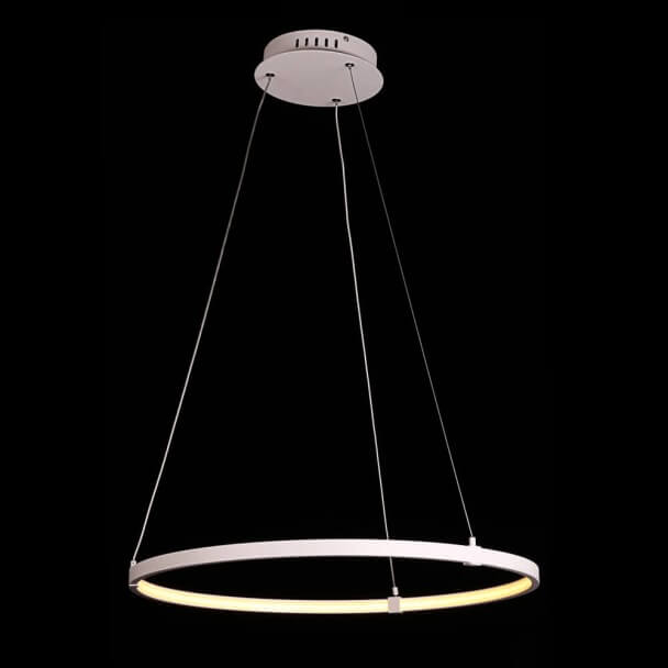 LED Circle Pendant Light - White Sand Uccello