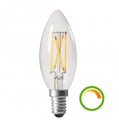 Economical LED Filament Bulb - 4W E14 Cap