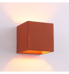 Concrete LED Wall Light for outdoor and bathroom - Red Nordic