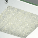 Modern and chic ceiling light with crystal glitter - Lisa