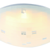 Round Scandinavian LED Ceiling Light - Milky