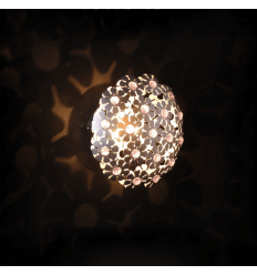 Flower Wall Light made of Glass and Aluminium - Cordelia