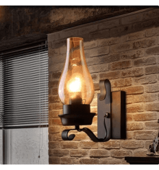 Rustic Wall Light - Aurelia