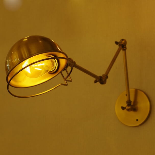 Antique style Wall Lamp - Golden Magna