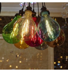 multicolored pendant light - Spark
