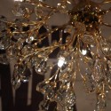 Brass crystal chandelier - Eve