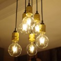 Industrial Loft Chandelier with 6 lights - Sekka