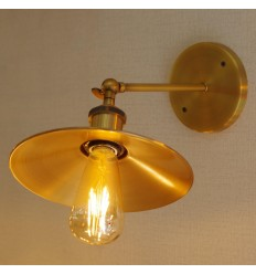 Golden Vintage Wall Light - Scopa