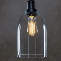 Glass Dome Pendant Light - Gloria