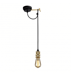 Golden and Black Pendant Light - Sekka
