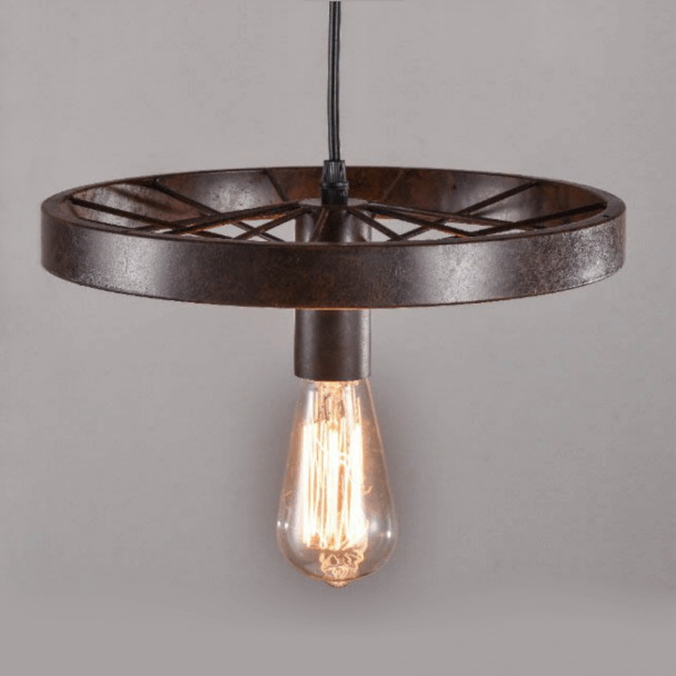 Architect style pendant light - Rusty Bike