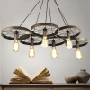 Large Pendant Light 6 wheels - Bike