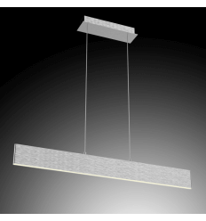 LED Futuristic Pendant Light - Silver Cruise