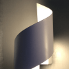 Twisted LED Wall Light - White Typhoon