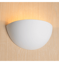 Half moon Gypsum Wall Light - Revolution