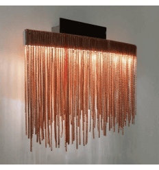 Decorative LED Wall Light Colour Copper Pink - Phoenix