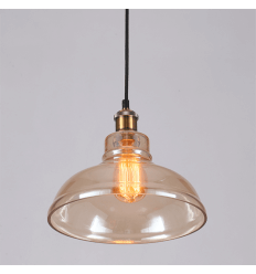 Copper-colored lamp style loft - Cooper