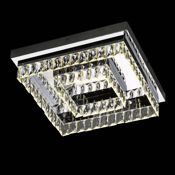 Modern Crystal Ceiling Light - Million 42 cm