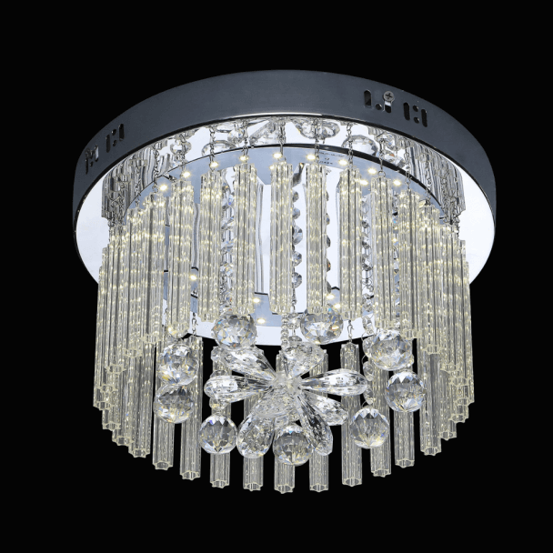 Modern Chandelier Ceiling Light Crystal - Mercury