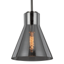 Lamp with tinted cone shade - Reflesia