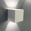 LED Wall Light Dimmable 6W - White Cubic