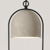 Flowerpot Design Pendant Light Concrete - Spring