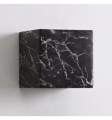 Concrete Black Marble Lamp - Atlas