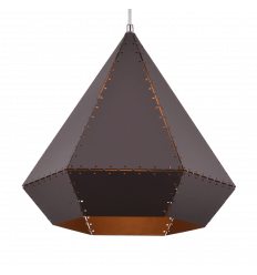 Loft Style Lighting Black & Gold - Volcano