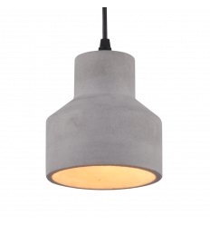 Scandinavian Pendant light made of concrete - Ivory