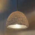 Lamp hanging white concrete - Levia