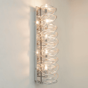 Large Wall Light with chrome design 62 cm - Memphis